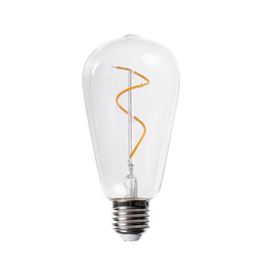 Humble Swirl Bulb clear (vervanglamp voor tafellamp One)