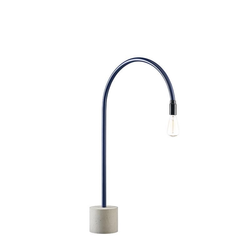 bultin bul035 tafellamp h700 - concrete grey base
