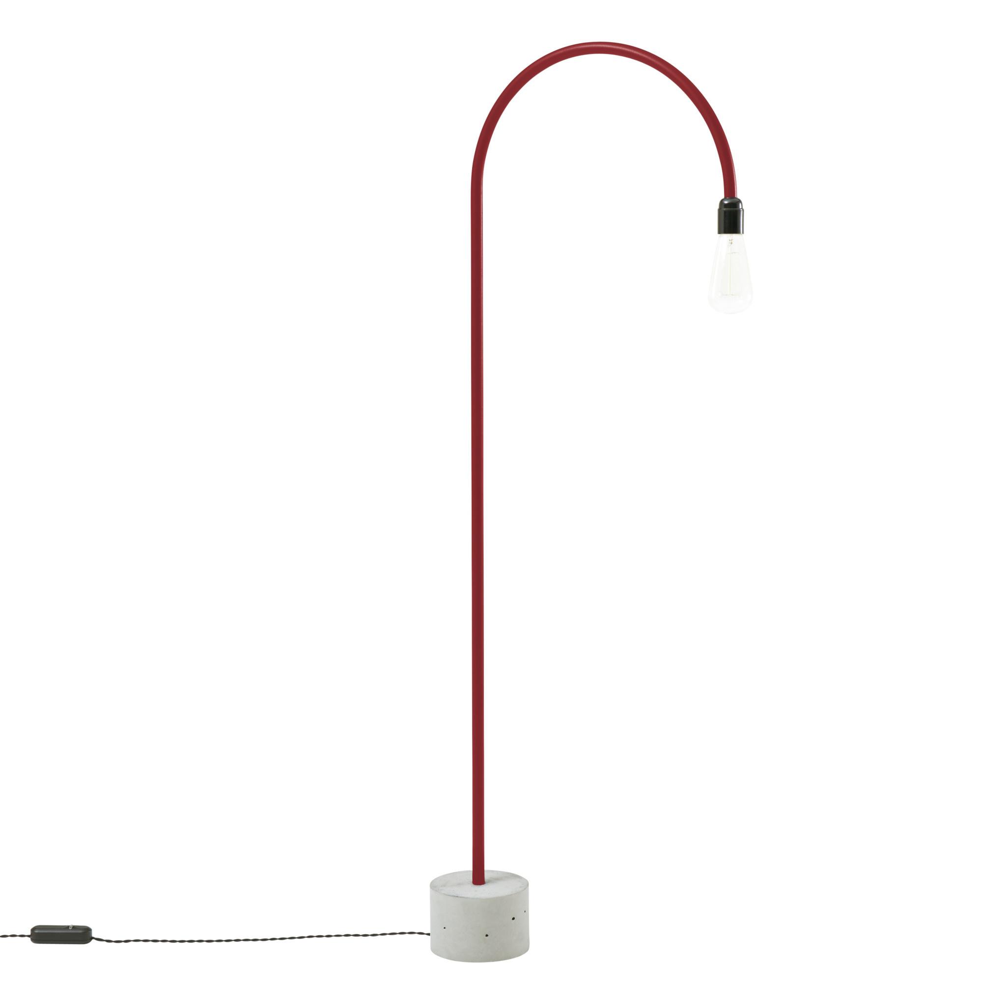bultin bul045 vloerlamp h1400 - concrete grey base