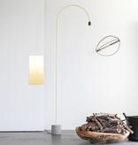 bultin bul055 vloerlamp h2100 - concrete grey base