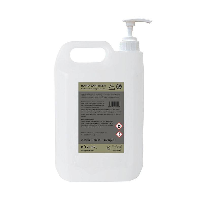 Puritx Hand Sanitiser navul 5L