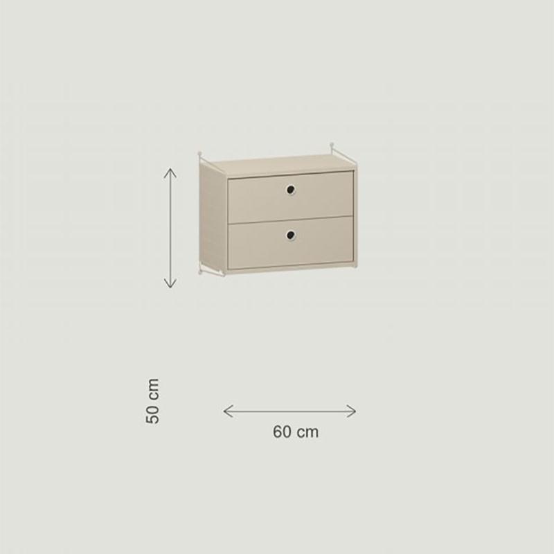 String Slaapkamer configuratie 1