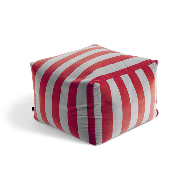 HAY pouf soft stripe
