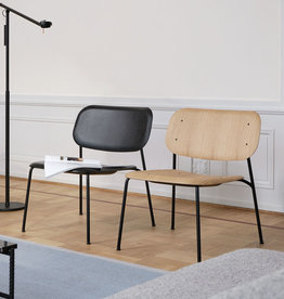 HAY Soft Edge 10 Lounge Chair - Black Frame