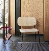 HAY Soft Edge 10 Lounge chair - black powder coated frame