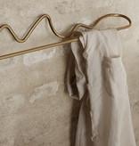 Fermliving Curvature porte serviette brass