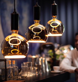 Segula Smokey Grey - Floating Globe LED