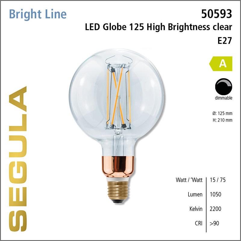 Segula Lampe Bright Globe Ø 125 mm high brightness