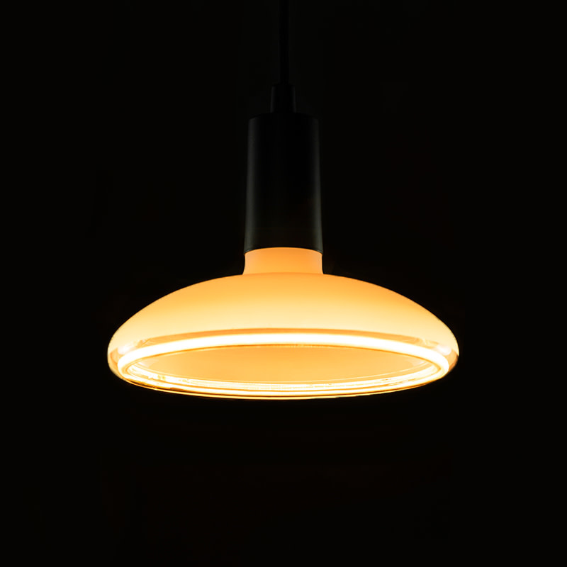 Segula Floating Reflector LED - Milky-frosted