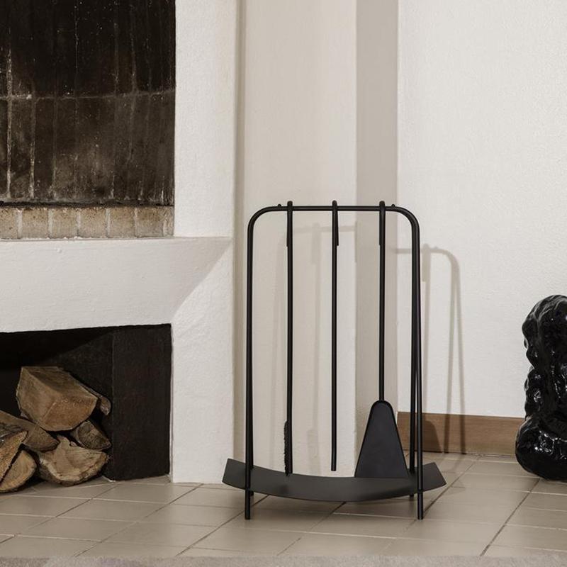 Fermliving Port fireplace tools  - zwart