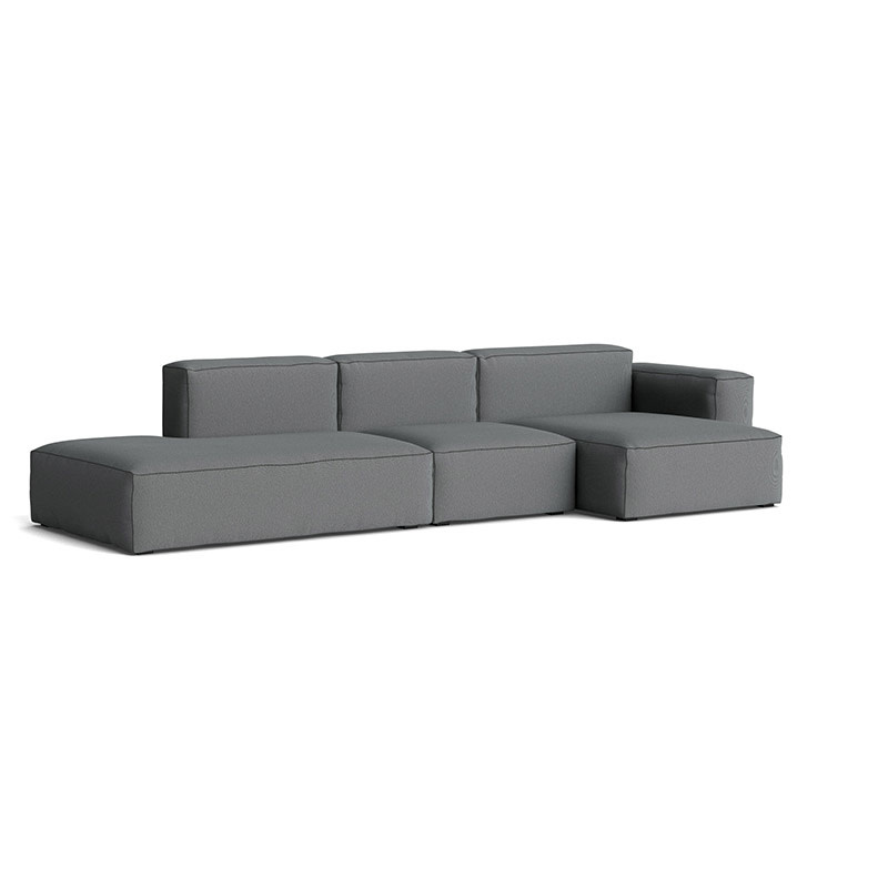 HAY Mags Soft Sofa low - 3 seater right comb 4