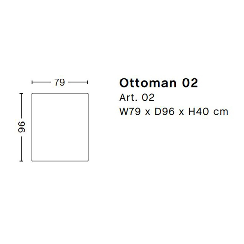 HAY Mags 02 - Ottoman S
