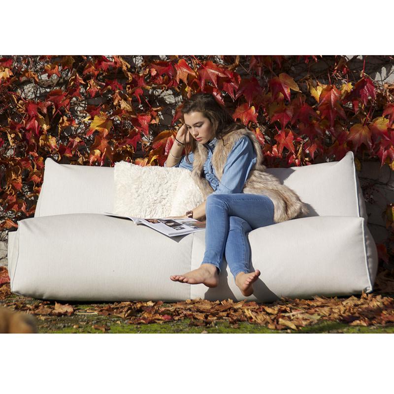 Gart Sofa (3-zit) - Puffone -  Stof Sling