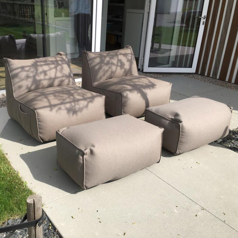 Gart Puffone - Easy chair (1-zit) - stof Sling