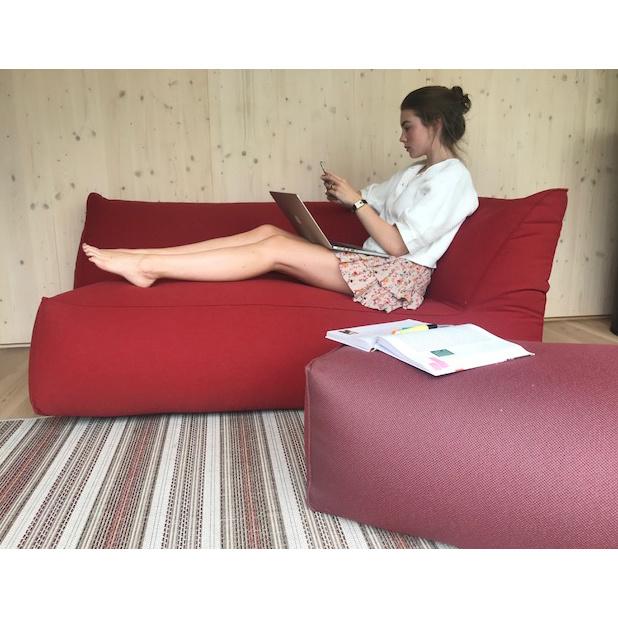 Gart Corner sofa (2-zit) -Puffone - Stof Heritage