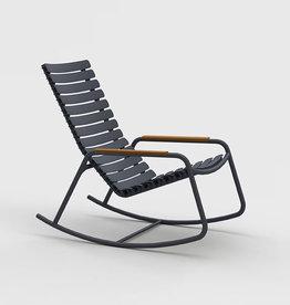 Houe Reclips rocking chair - bamboo armleuning