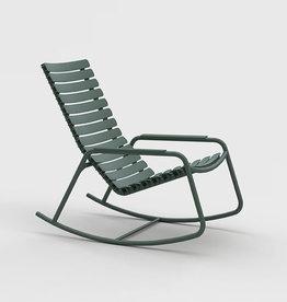 Houe Reclips rocking chair - aluminium armleuning