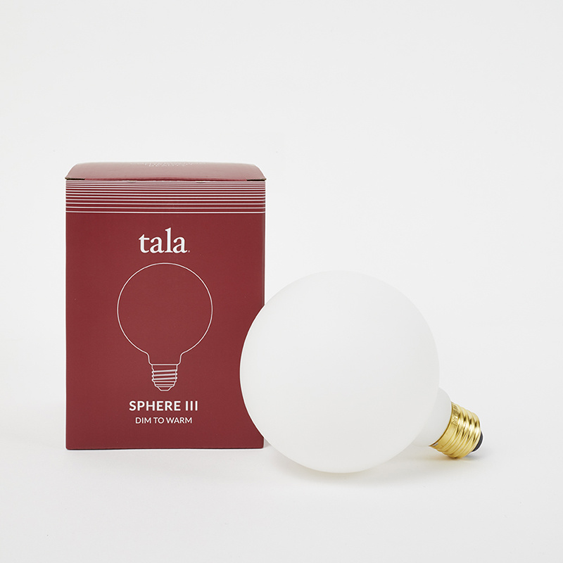 Tala LED Sphere III LED Bulb - Dim to warm