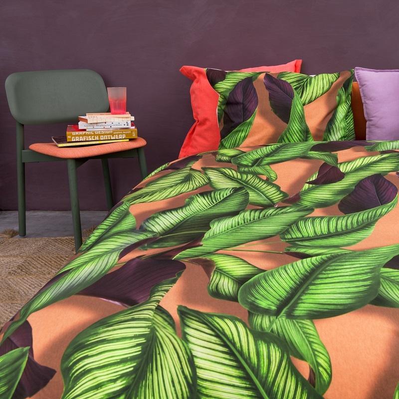 SNURK beddengoed Fresh Leaves housse de couette 1p