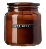 Wellmark 'Just relax'  - Bougie parfumée  L