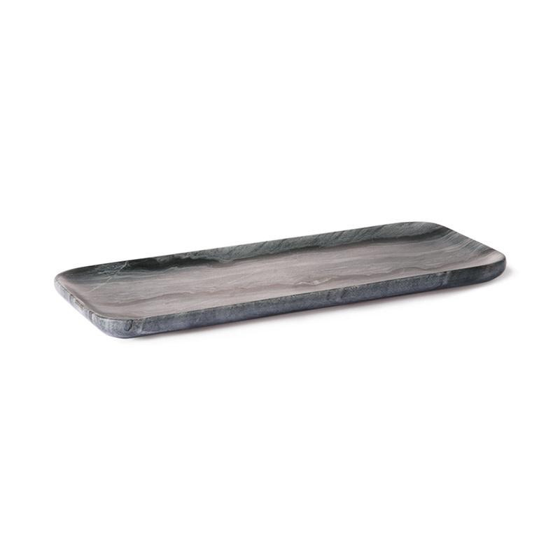 HKliving Marmeren dienblad - grijs