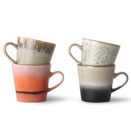 HKliving Americano koffiebekers (set van 4)