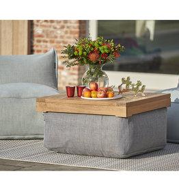 Roolf Table en teck pour pouf