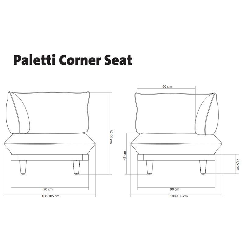 Fatboy Paletti Corner - outdoor lounge