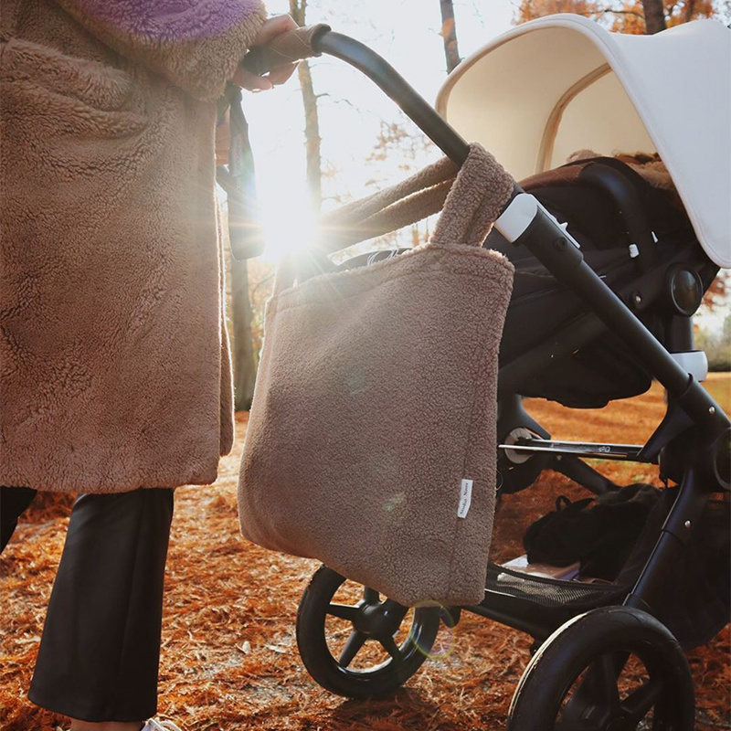 Studio Noos Mom bag - Chunky Teddy  Brown