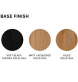 HAY Neu 12 barkruk - frame lacquered soft black oak
