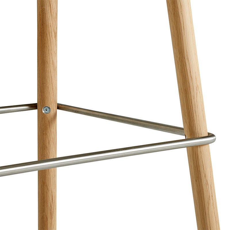 HAY Neu 12 barkruk - frame natural lacquered oak