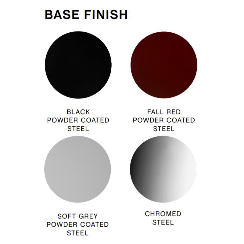 HAY Soft edge 10 barkruk - frame powder coated black