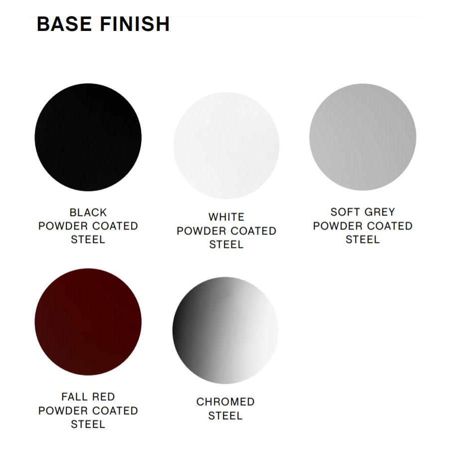 HAY Soft edge P10 barkruk - black frame