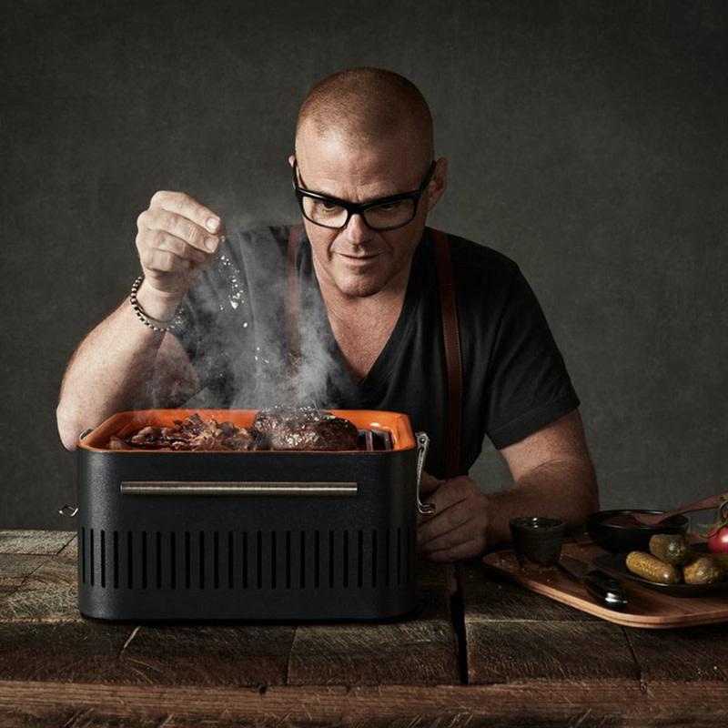 Everdure Cube HTafel- Barbecue met houtskool