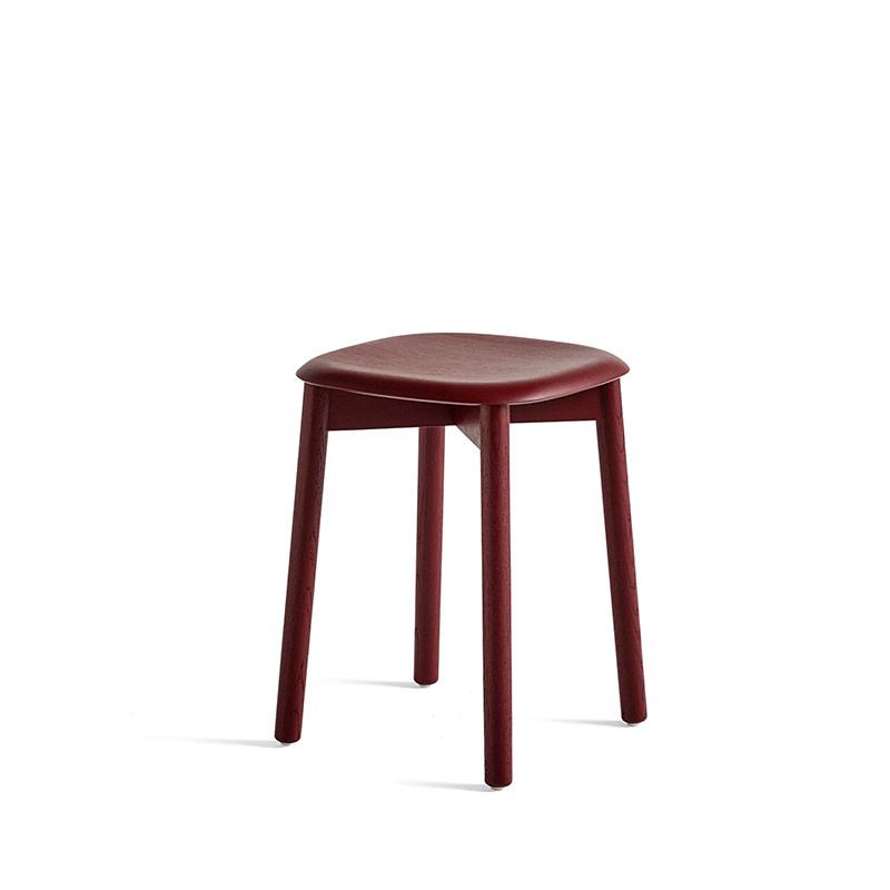 HAY Soft edge 72 tabouret - wooden frame