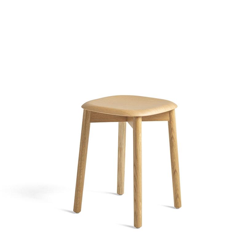HAY Soft edge 72 kruk -  wooden frame