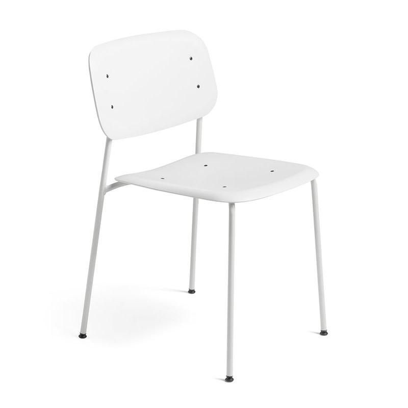 HAY Soft Edge P10 - white (steel frame - polypropylene seat)
