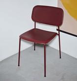 HAY Soft Edge P10 - fall red (steel frame - polypropylene seat)