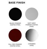 HAY Soft edge 30 barkruk  - frame powder coated fall red