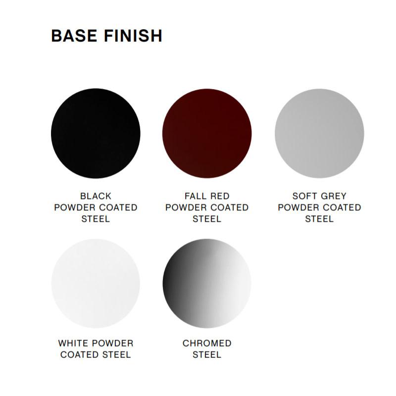 HAY Soft edge P30 barkruk  - frame powder coated black
