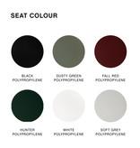 HAY Soft edge P30 tabouret de bar - frame powder coated black