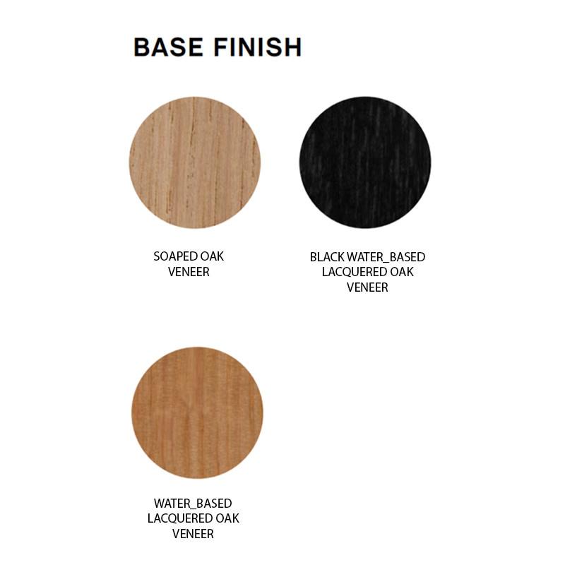 HAY AAS32 Barkruk - frame black oak veneer