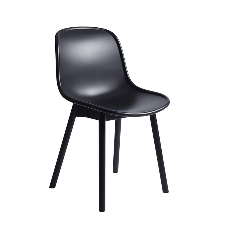 HAY Neu 13 Chair - Soft Black Water-Based Lacquered Oak Frame