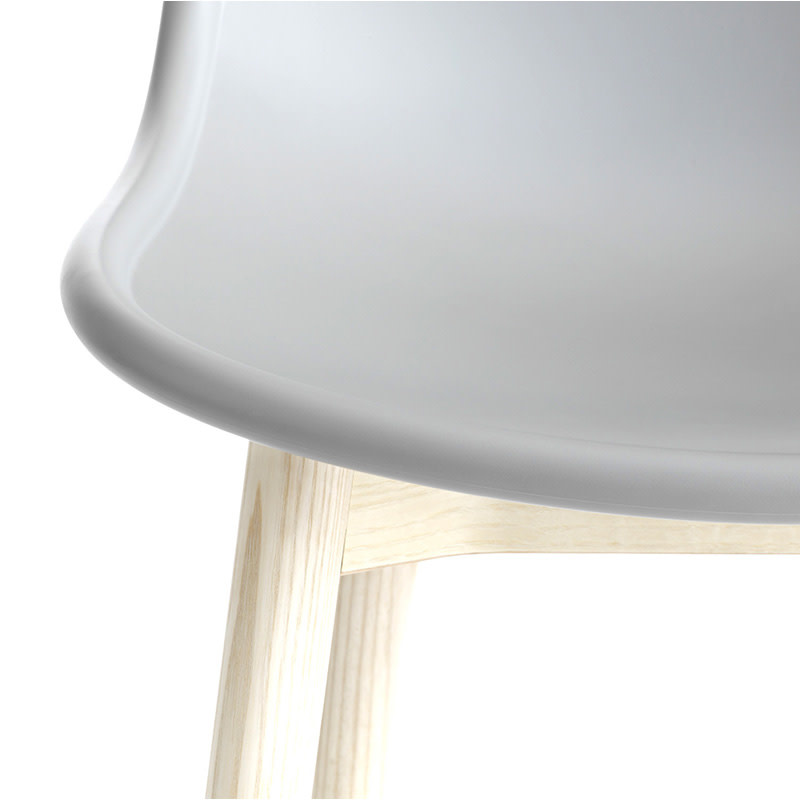 HAY Neu 13 Chair - Natural Water-Based Lacquered Ash Frame