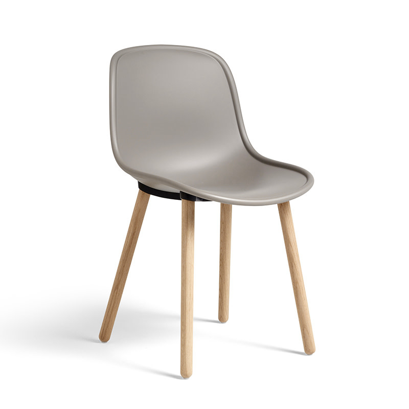 HAY Neu 12 Chair - Natural Water-Based Lacquered Oak Frame