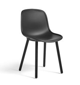 HAY Neu 12 Chair  - Soft Black Lacquered Oak Frame
