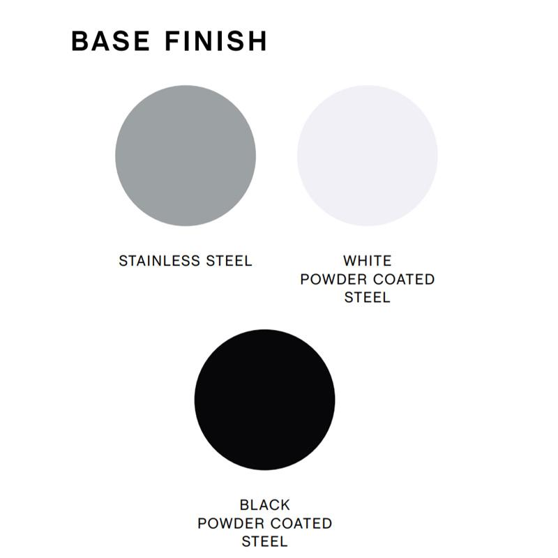 HAY AAS38 Barkruk - white powder coated frame