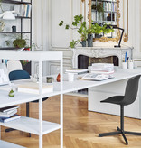 HAY Neu 10 Chair - Black Powder coated Aluminium Frame