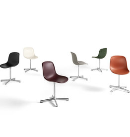 HAY Neu 10 Chair - Polished Aluminium Frame