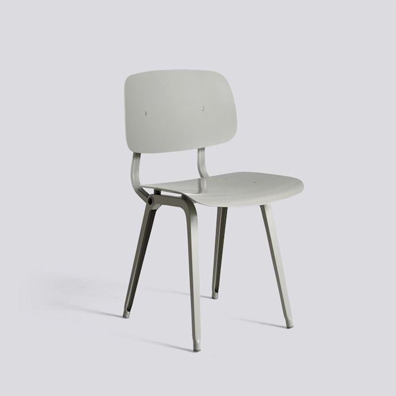 HAY Revolt chair - beige powder coated steel frame
